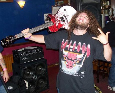 Jonnii Guns - Air guitar Bedrock