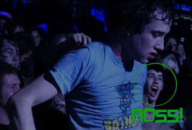 Ever being in a music video? Ross has been on a live dvd! Can you beat that?