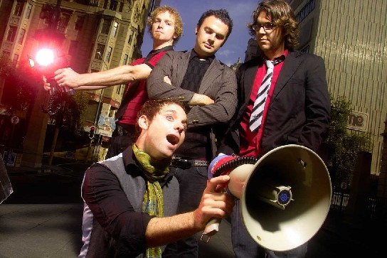 The Parlotones: not actually that noisy.