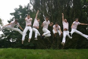 Adequate Seven audition for 'Jump' as a boyband?